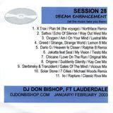 Session 28- Dream Enhancement DJ Don Bishop 1/2003