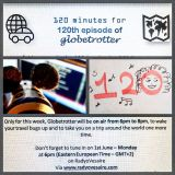 Globetrotter 1/6/15   120 minutes for the 120th live show!!!