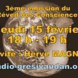 Emission du jeudi 15 février, invité Hervé MAGNIN