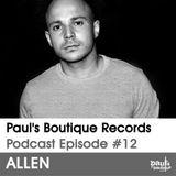 Paul's Boutique Podcast #12 Allen