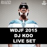 WDJF 2015 DJ KOO Live set