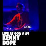 Kenny Dope| Goa 22 Aniversario | Red Line | 26 Noviembre 2016
