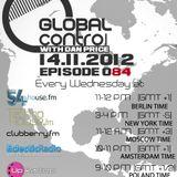 Dan Price - Global Control Episode 084 (14.11.12)