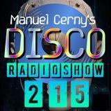 Manuel Cerny's DISCO Radioshow (215) - Hola FM Radio Fuerteventura