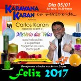 Programa Karavana Karan 05/01/2017 - Carlos Karan