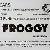 FROGGY LIVE AT OSCARS FRIDAY 8th JANUARY 1982