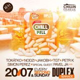 Tokátko: CHILL PILL - Terrace Session@DUPLEX PRAGUE (20/7/2014)