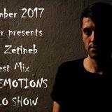 RAVE EMOTIONS RADIO SHOW (13RaVeR) - 1.11.2017. Unam Zetineb Guest Mix @ RAVE EMOTIONS