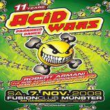Rob Acid vs Sorgenkint (Live PA) @ 11 Years Acid Wars - Fusion Club Münster - 07.11.2009