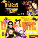 Les Envahisseurs New #4 INTERVIEW on Dynamic Radio