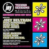Blue Amazon - live @ Joy Techno sessions -  Joey Beltram Oct 2018