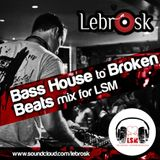 Lebrosk - Bass House to Broken Beats mix for LSM