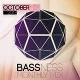 Bassness Monthly mix // October 2013