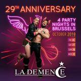 #33 OCT 2018 LA DEMENCE 29th ANNIVERSARY PROMO SET