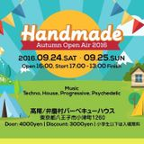 25th,Sep,2016-HAND MADE Open Air Party LIVE MIX