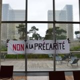 Grève à la BNF