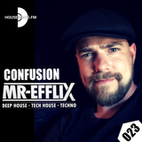 CONFUSION 023 - Deephouse - Techhouse - Techno live mix