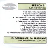 Session 21- Just Another Mix-DJ Don Bishop July 2002
