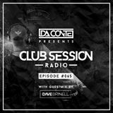 Da Conte   Club Session #65 with Guestmix by Dave Brinell