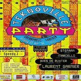 Dj Marcello @ Teknoville Party - Cherry Moon Lokeren - 27.05.1994