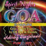 *Spirit Nights* The Sound of GOA!