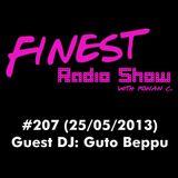FINEST Radio Show #207 - Guest DJ: Guto Beppu