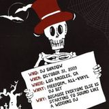 DJ Shadow Live in Los Angeles, CA - Halloween, 2009 - MP3 Mix
