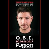 O.B.I. - live at Definition Of Hard Techno (Fusion Club, Germany) - 04-Jun-2017