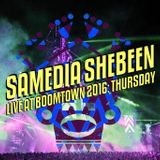 Samedia Shebeen Live at Boomtown 2016 - Part 1: Thursday Night