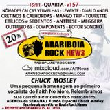 # 157 Arariboia Rock News - 15.11.2017 - Especial Chuck Mosley