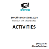 SU Officer Elections 2014 - ACTIVITIES Officer Candidates