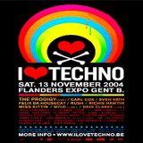 Justin Berkovi (Live PA) @ I Love Techno 2004 - Flanders Expo Genf - 13.11.2004