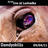 Dandyskills live dj set @ Loshadka prty - 09.04.11