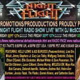 The Night Flight Radio Show 14-09-12