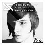 Podcast Vol. 2/2014 - Mixed by Bakalov D