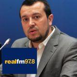 Ο Υπουργός Επικρατείας, Νίκος Παππάς, Στο Ρ/Σ 'REAL FM 97,8΄ με τον Νίκο Χατζηνικολάου.