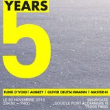 KOMPLEX DE DEEP 5 YEARS Master-H and Aubrey B2B live @Showcase Paris