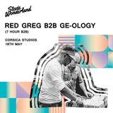 2018-05-18 - Red Greg b2b GE-OLOGY @ Stevie Wonderland, Corsica Studios, London