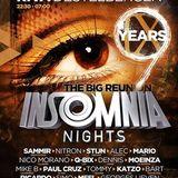 dj's Nitron vs Sammir @ Club Riva - Insomnia Nights Classics 21-12-2013
