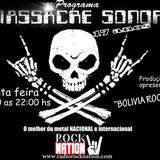 Programa - MASSACRE SONORO - 25  - Agosto - 2016 -  Radio Rock Nation