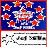 "Jeff Mills at ""Superstars N°1"" @ L'An-Fer (Dijon - France) - 21 January 2000"
