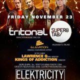 11-23-12_-_Elevation Live Opening Set -  @ Tritonal w/ Super8 & Tab - Arc Tour - Elektricity Pontiac
