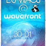 DJ WAGS LIVE @ Wavefront Music Festival 2012