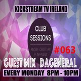Andry Cristian & Alesana - Club Sessions 063 Guest Mix DAGENERAL Live @KickStream TV Ireland
