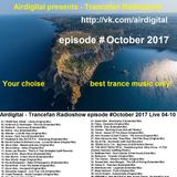 Airdigital - Trancefan Radioshow episode #October2017 Live 04-10 Avivmedia Stream