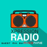 Xpression Radio Mix 015 (Guest Mix By Miss Nine)