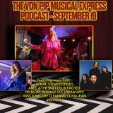 The Von Pip Musical Express Podcast - September 2019