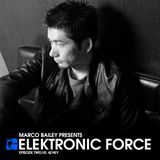 Elektronic Force Podcast 012 with Q Hey