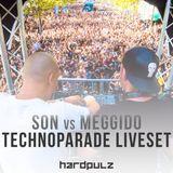 Son & Meggido @ Char Hardpulz - Techno Parade 2017