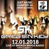 Greg Sin Key - Just Music Chapter 24 - Drum and bass